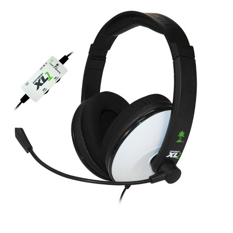 Turtle Beach Ear Force XL1 Headset - Black/White