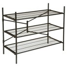 Cosco Garage 3-Shelf Storage Rack - Black