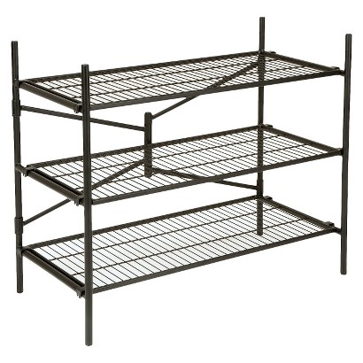 Cosco Garage 3-Shelf Storage Rack - Black