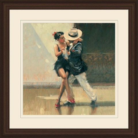 Framed Graphic - Red Shoes 18x18