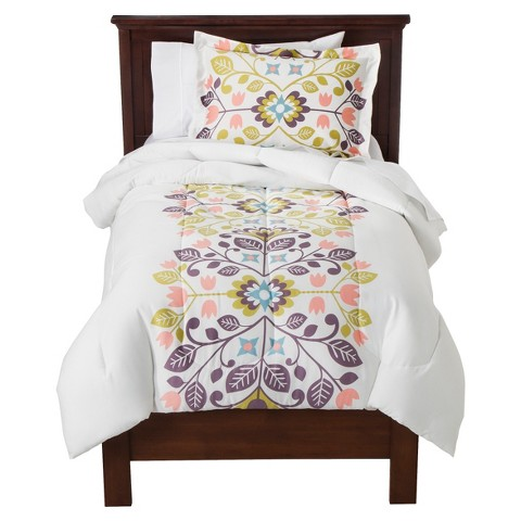 Floral Medallion Comforter Set