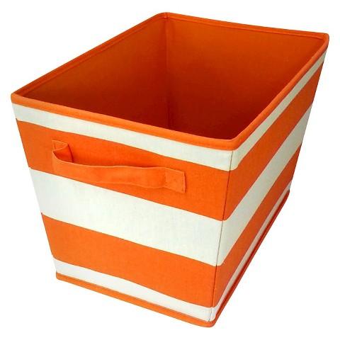 Linen Striped Storage Bin Set of 2 - Circo™