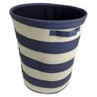 Circo™ Round Linen Basket - Set of 2 - Blue Overalls Stripe