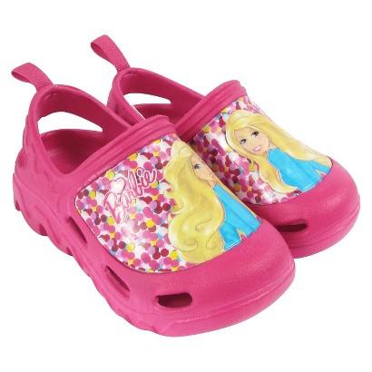 Toddler Girl's Barbie Clogs - Pink