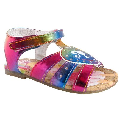 Toddler Girl's Barbie Gladiator Sandals - Multicolor