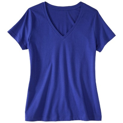 Women's Plus Size Short Sleeve V Neck Tee-Pure Energy