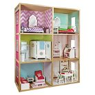 My Girls' Dollhouse for 18'' Dolls - Modern Home Style