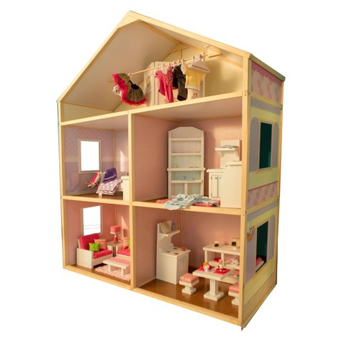 "My Girl's 18"" Dollhouse - Sweet Bungalow"