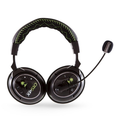 Turtle Beach Ear Force XP510 Headset - Black/Green