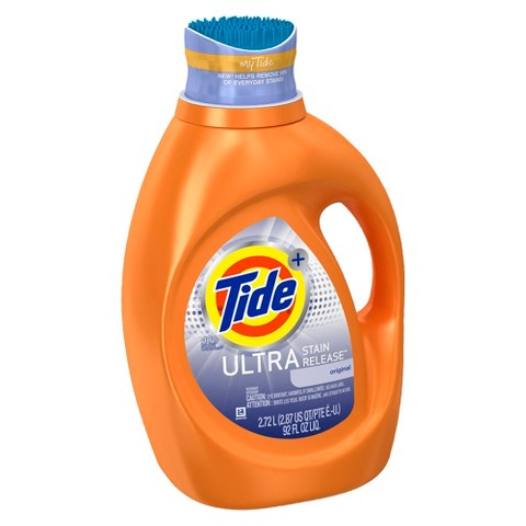 Tide Ultra Stain Release Liquid Laundry Detergent - 92 oz