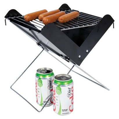 Picnic Time V-Grill - Portable Charcoal Grill with Tote