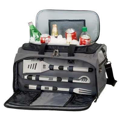 Picnic Time Buccaneer Gas Grill/ Cooler/ 3 Pc Tools