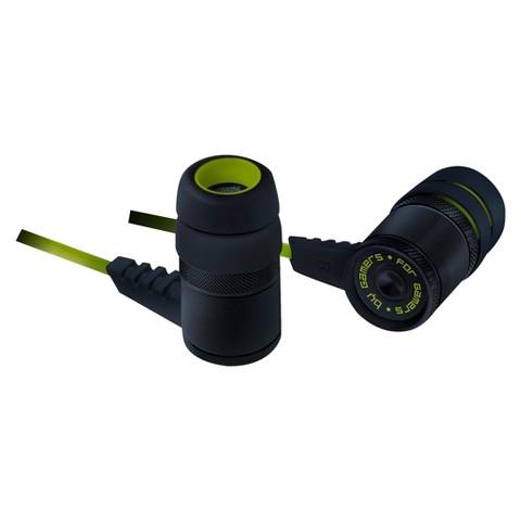 Razer Hammerhead Pro In-Ear Headset - Black/Green (RZ04-00910100-R3M1)