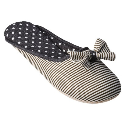 Gilligan & O'Malley® Women's Bow Slide Slipper - Assorted Colors