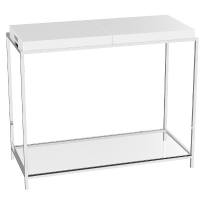 Convenience Concepts Console Table - White