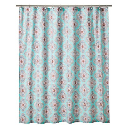 Boho Boutique™ Pompano Reverse Shower Curtain