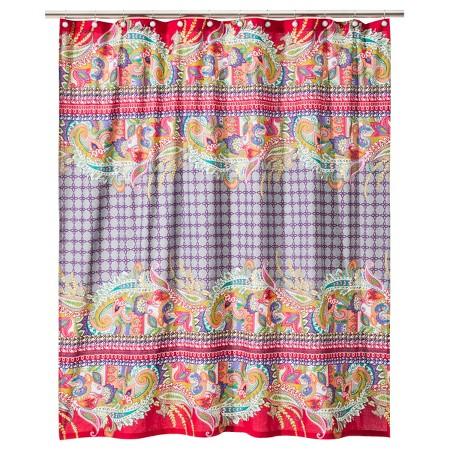 boho boutique tahiti shower curtain target