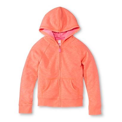 Cherokee® Infant Toddler Girls' ZipUp Hoodie - Moxie Peach