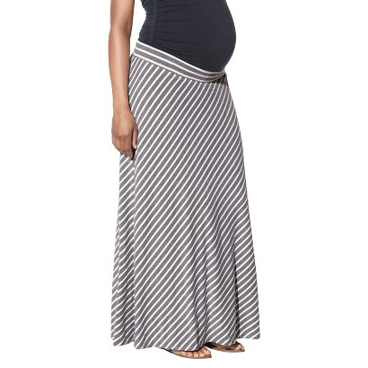 Maternity Knit Maxi Skirt Heather Gray-Liz Lange® for Target®
