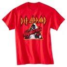 Men's M Def Leppard T-Shirt Red