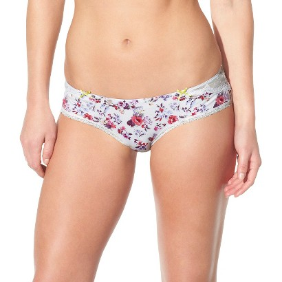 Women's Cotton with Lace Trim Hipster - Xhilaration®