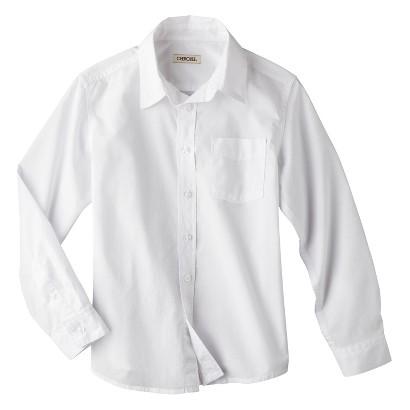 Cherokee® Boys' Button-Down Shirt -  True White
