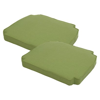 Smith & Hawken® Brooks Island 2-Piece Outdoor Replacement Arm Chair Cushion Set