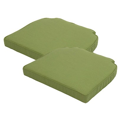 Smith & Hawken® Brooks Island 2-Piece Outdoor Replacement Side Chair Cushion Set