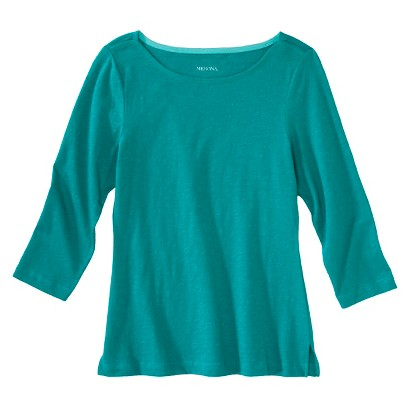 Women's Refined 3/4-Sleeve Boatneck Tee