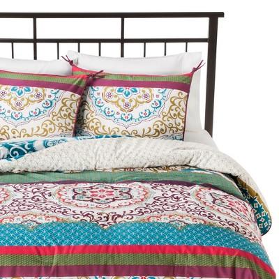 ECOM Boho Boutique� Taj Comforter Set - Blue (King)