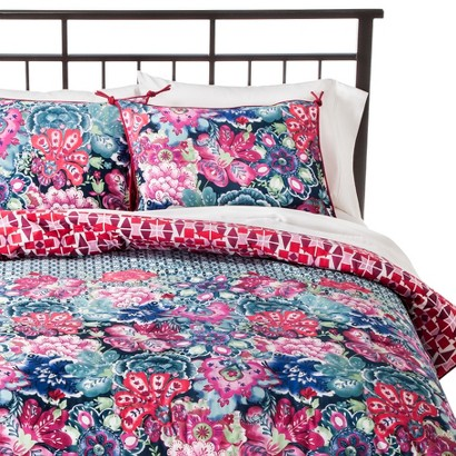 Boho Boutique Leilani Comforter Set - Pink (Full/(Queen)