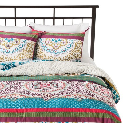Boho Boutique® Taj Comforter Set Blue (Full/(Queen)
