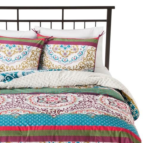 Taj Comforter Set Blue - Boho Boutique™