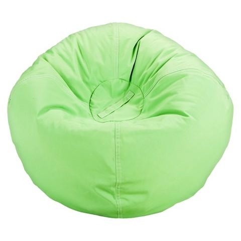 Bean Bag Chair Green - Pillowfort™
