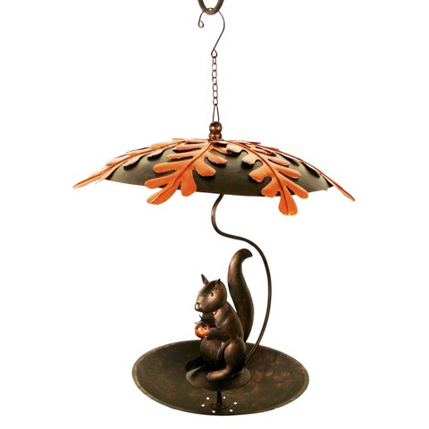Hungry Squirrel Bird Feeder