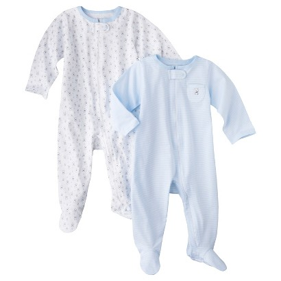 PRECIOUS FIRSTS™Made by Carters® Newborn Boys' 2 Pack Sleep N' Play - Blue