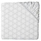 Circo® Grey Medallion Fitted Crib Sheet