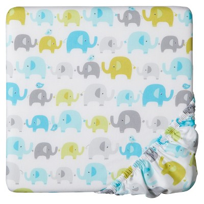 Circo™ Woven Fitted Crib Sheet - Trunks of Love