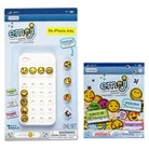 Emoji Icons™ Cell Phone Case iPhone 4/4s Bundle - White