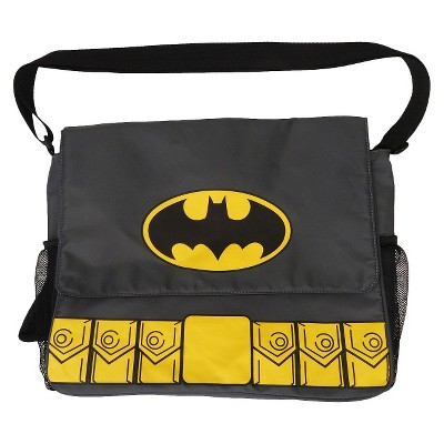 Warner Brothers Batman Diaper Bag - Gray