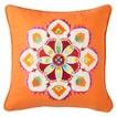 Mudhut™ Tamarin Decorative Pillow - Ivory/Red