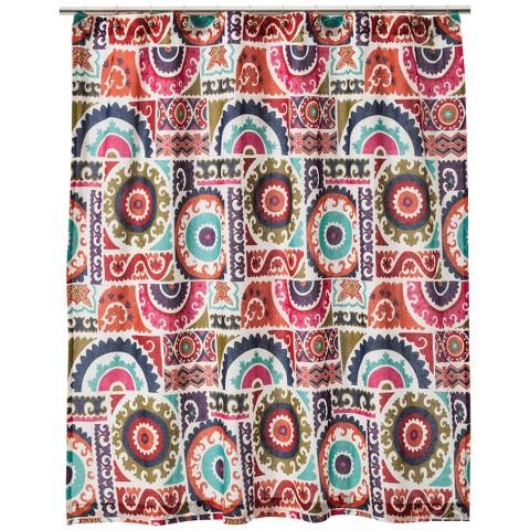 Mudhut™ Tahla Print Shower Curtain