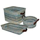 Threshold™ Seagrass Decorative Storage ...