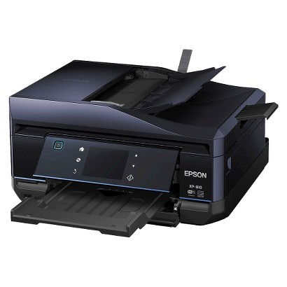 Epson Expression Home XP-810 Color Multifunction Inkjet Printer - Black (C11CD29201)