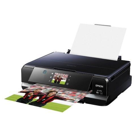 Epson Expression Home XP-950 Color Multifunction Inkjet Printer - Black (C11CD28201)