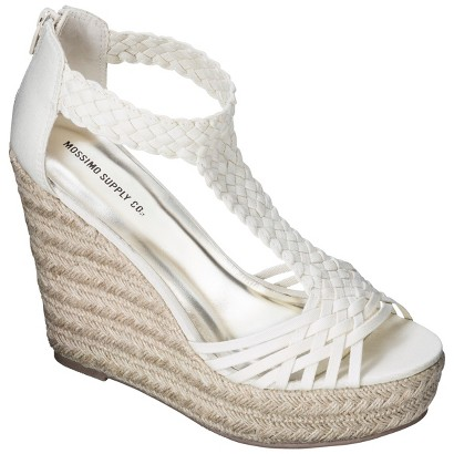 Women's Mossimo Supply Co. Novalee Wedge Sandal - Assorted Colors