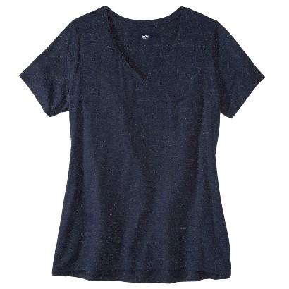 Women's Plus Size Short Sleeve Draped Tee-Mossimo®