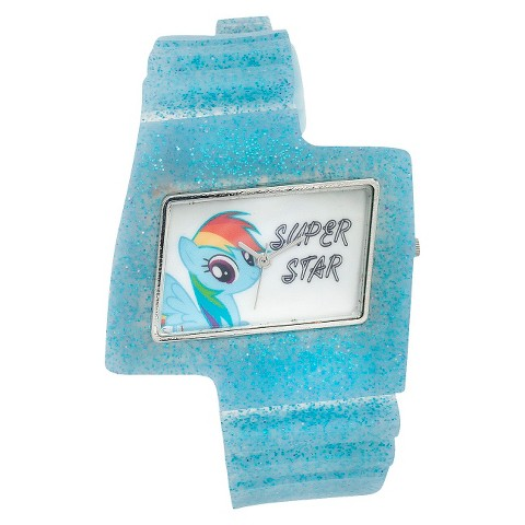My Little Pony Lightning Shaped Analog Wristwatch - Blue