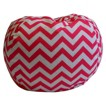 Newco Chevron Bean Bag - Candy Pink