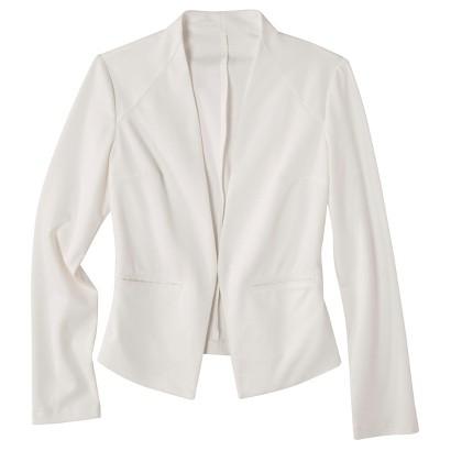 Merona® Women's Ponte Collarless Jacket - Assorted Colors